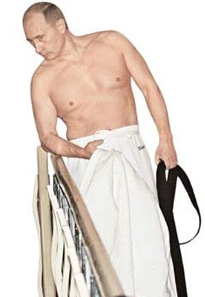 Эротическое фото Путина