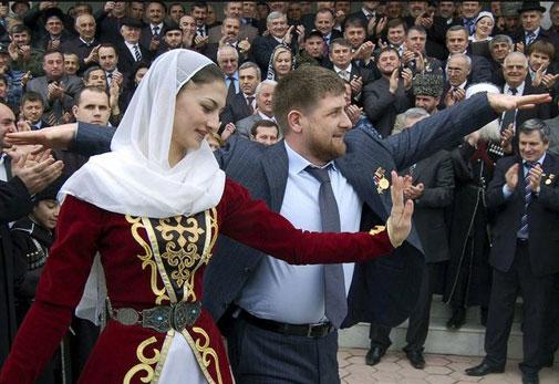 """Чеченский """"орел"""" Рамзан Кадыров"""
