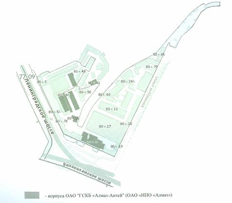 План создаваемого объекта недвижимого имущества образец