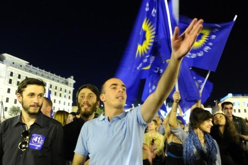 Сторонники премьер-министра верят в «Грузинскую мечту» Фото: ИТАР-ТАСС