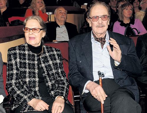 С нынешней супругой Ириной СЕРГЕЕВОЙ замечательный актёр вместе уже 45 лет