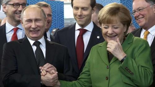 Владимир Путин и Ангела Меркель. Фото ЖЖ hprosto-vova.livejournal.com