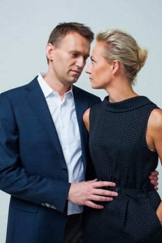Алексей Навальный и Юлия Навальная Фото vk.com