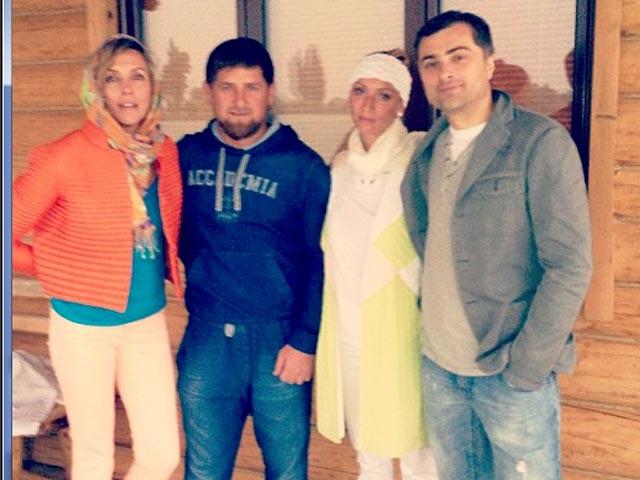 С женой Ксенией, дочкой Мартой и сыном Левой Фото: Геворг...
