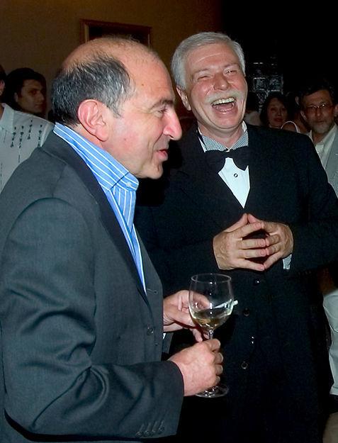Борис Березовский и Бадри Патаркацишвили Фото: George Abdaladze/AP