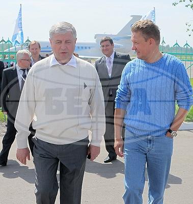 Фестиваль посетили высокопоставленные гости – Алексей Миллер и Владимир Семашко. Приветствие прислал Александр Лукашенко.