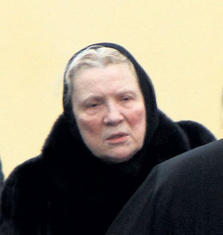 Бывшая жена мэтра Елена Петровна