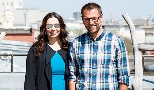 Наталья Синдеева и Александр ВинокуровФото Петра Антонова для Forbes