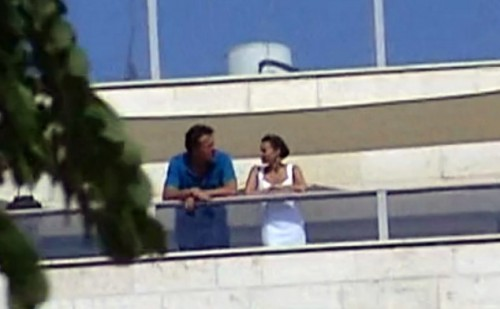 Сергей Полонский и Диана Татосова в Израиле