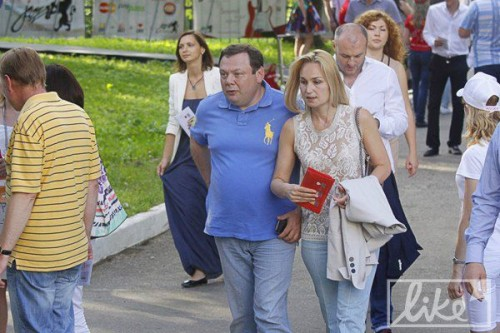 Михаил Фридман с женой. Фото: Валерия Ковалинская