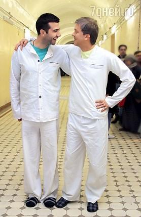 Сергей с близким другом Иваном Ургантом Фото: PERSONASTARS.COM