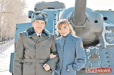 Сергей Солнечников и Ольга Овчаренко