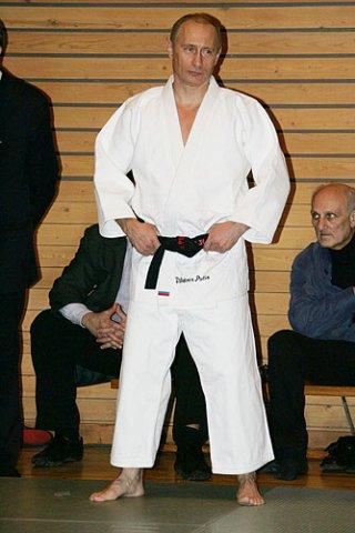 Владимир Путин Фото с сайта vseojudo.ru
