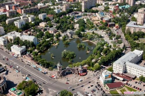 Московский зоопарк. Фото сверху. Фото 2cafe.net/
