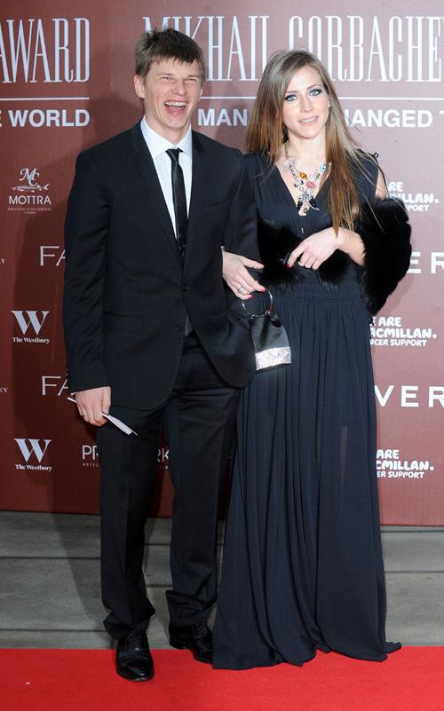 Андрей АРШАВИН С женой Юлией. Фото: Splash/All Over Press