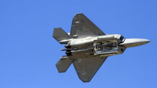 Многоцелевой истребитель F-22 Raptor © РИА Новости. Валерий Ярмоленко