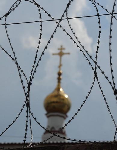 На территории тюрьмы есть храм Святого Николая Чудотворца Фото: Юрий Мартьянов / Коммерсантъ