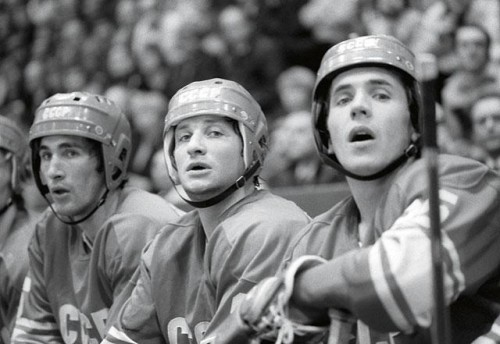 ...хоккеисты,... Фото: Игорь Уткин (Фото ИТАР-ТАСС)
