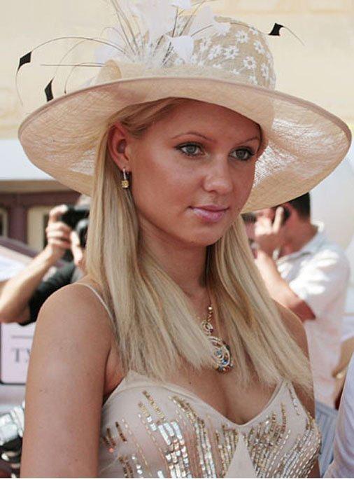 24-х летняя дочь Дмитрия Рыболовлева - Екатерина Фото с сайта: http://j-news.info