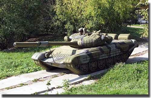 Резиновые Т-90 Фото: pro-tank.ru