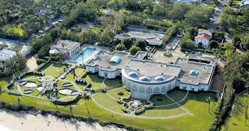 а поместье в Калифорнии инвесткомпания РЫБОЛОВЛЕВА заплатила Дональду ТРАМПУ $100 млн.