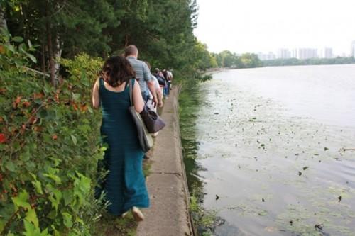 Обойти джунгли можно только рискуя упасть в воду. Как же здесь ходить детям, пожилым людям, инвалидам?