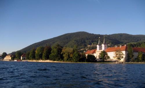 Поместье на озере Тегернзе. Фотография с сайта ru.wikipedia.org
