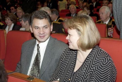 Сергея Шойгу с супругой Ириной. Фото: Forbes