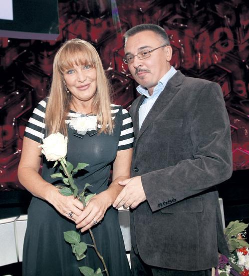 Юбилярша с автором статьи в 2013 году...