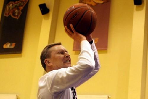Сергей Иванов в Национальной академии баскетбола. Фотография: Вадим Жернов/ИТАР-ТАСС