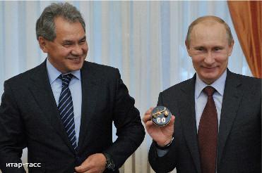 Путин награждает своих солдатиков за войну на Украине