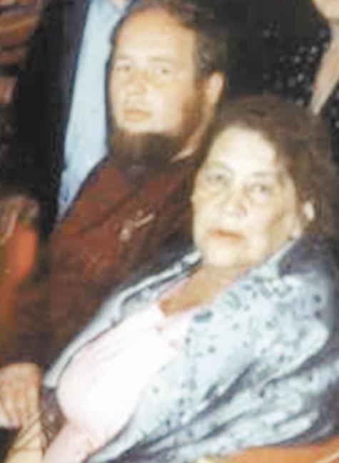 Внучка Менделеева Екатерина Каменская-Менделеева с сыном Александром. Фото из семейного архива