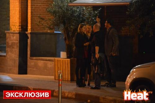 Виновница торжества последней покидала гостеприимное заведения Федора Фомина