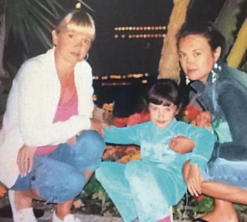 Вместе с мамой и Дашей. Фото из семейного архива