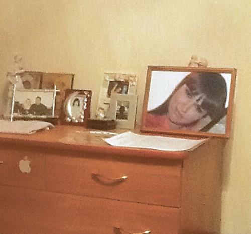 Юлю Хлыстову разрешили отпеть как страдалицу. Фото из семейного архива