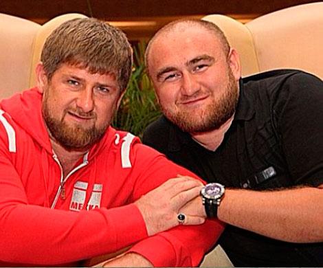 На фото: Рамзан Кадыров и Рауф Арашуков, фото ya-kadyrov.livejournal.com