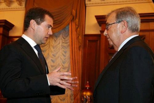 Дмитрий Медведев и Евгений Примаков