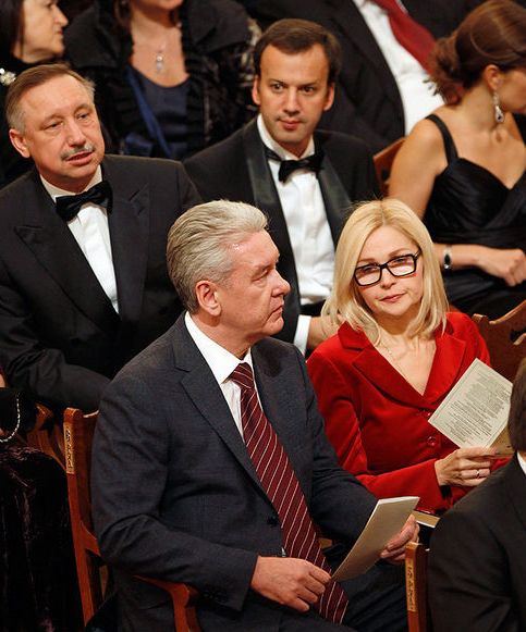 аркадий дворкович и его жена: