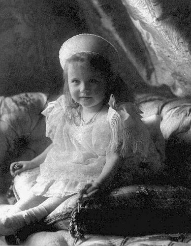 Великая княжна Анастасия в возрасте трёх лет. Фото: Livadia.org