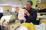 Работа швейной мастерской исправительной колонии № 1 в Челябинской области