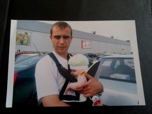 Капитан полиции Денис Кольцов уже 8 месяцев не видел своих детей.