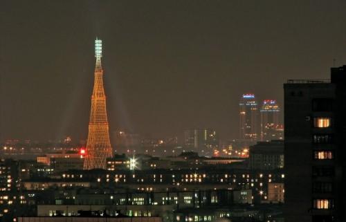 Шуховская башня (Москва) Фото с сайта panoramio.com