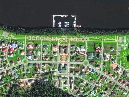 Дом чиновника находится на местном променаде Карты Google