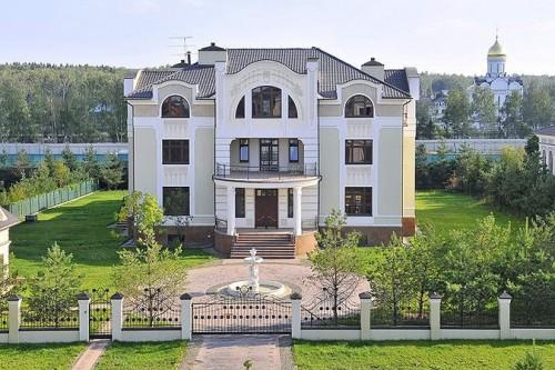 В Подмосковье выставлен на продажу дом за 5 миллиардов рублей Фото: usovo.ru