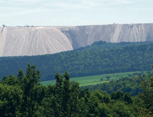 Породные отвалы — искусственные горы Донбасса