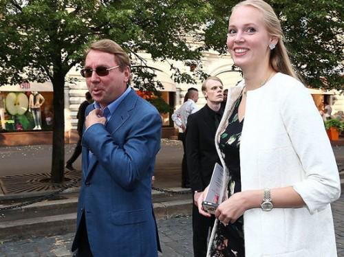 Владимир Кожин и Олеся Бословяк. фото: instagram.com