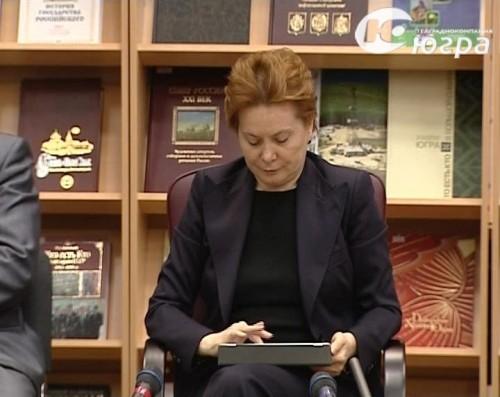 Губернатор Югры Наталья Комарова. Фото с сайта ugra-tv.ru