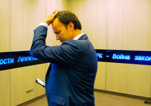 Анонимные хакеры объявили вице-премьеру информационную войну. Фото: Д. Абрамов / Ведомости