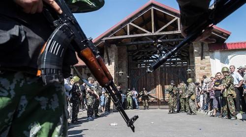 От разграбления резиденцию Ахметова в Донецке могла спасти забота сепаратистов о собственной репутации Фото: Илья Питалев, Коммерсантъ