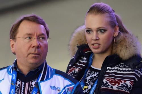 Владимир Кожин и Олеся Бословяк. Фотография: РИА «Новости»